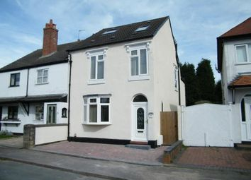 Thumbnail 5 bedroom semi-detached house for sale in Baker Street, Burntwood, Staffordshire