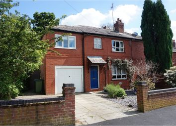 Thumbnail 4 bed semi-detached house for sale in Waterloo Road, Romiley