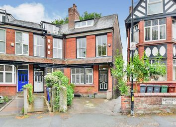 Claremont Grove, Didsbury, Greater Manchester M20. 5 bed end terrace house