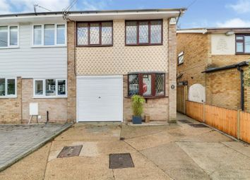 Thumbnail 3 bed semi-detached house for sale in Gravel Road, Eastwood, Leigh-On-Sea