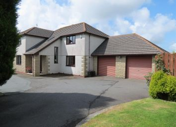 Thumbnail 4 bed detached house for sale in Rectory Road, St Dennis, St Dennis
