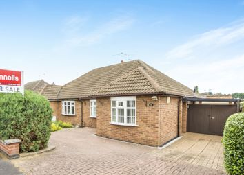 Thumbnail 2 bedroom semi-detached bungalow for sale in Sedgefield Drive, Thurnby, Leicester