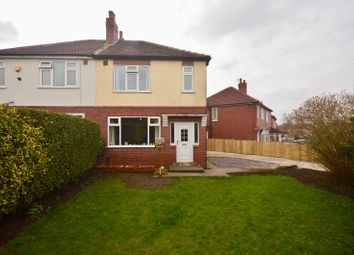 Thumbnail 3 bed semi-detached house for sale in Brian Crescent, Leeds, West Yorkshire