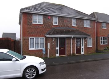 Thumbnail 3 bed semi-detached house to rent in Beaulieu Drive, Stone Cross, Stone Cross, Pevensey