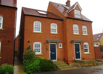 Thumbnail 3 bed semi-detached house to rent in Wilkinson Road, Kempston