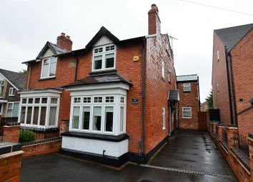 Thumbnail 4 bed semi-detached house for sale in The Hollow, Littleover, Derby
