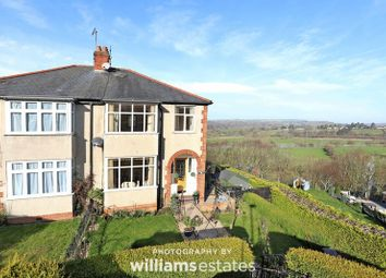 Thumbnail 3 bed semi-detached house for sale in The Crescent, Corwen