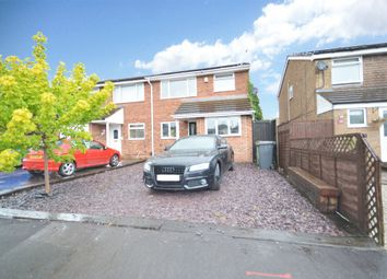 Thumbnail 3 bed semi-detached house for sale in Glenwood Gardens, Bedworth