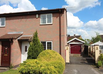 Thumbnail 2 bed end terrace house for sale in Shelley Close, Nuthall, Nottingham