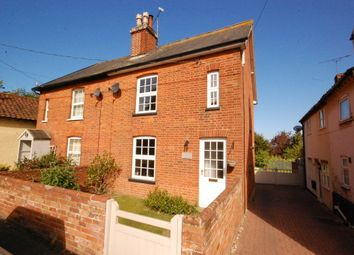 Thumbnail 2 bed semi-detached house for sale in The Street, Eyke, Woodbridge