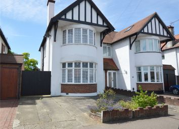 Thumbnail 3 bedroom semi-detached house for sale in Midhurst Avenue, Westcliff-On-Sea, Essex