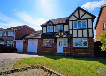 Thumbnail 4 bed detached house for sale in Niven Close, Wainscott, Rochester