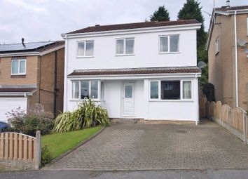 Thumbnail 4 bed detached house for sale in Cromwell Road, Bolsover, Chesterfield