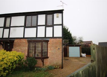 Thumbnail 2 bedroom semi-detached house for sale in Chedworth Close, Lincoln
