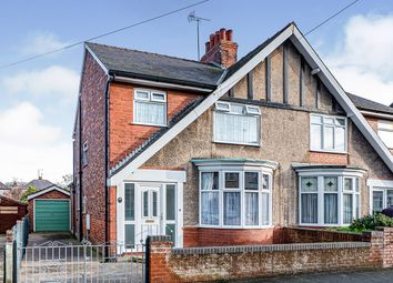 Thumbnail 3 bed semi-detached house for sale in Savage Road, Bridlington, East Yorkshire