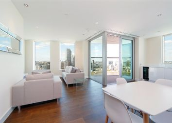 Thumbnail 2 bed flat to rent in Arora Tower, 2 Waterview Drive, London