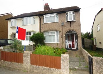 Thumbnail 3 bed semi-detached house for sale in Raeburn Avenue, West Kirby, Wirral
