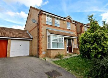 Thumbnail 3 bed detached house to rent in Milburn Avenue, Oldbrook, Milton Keynes