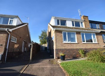 Thumbnail 4 bed semi-detached house for sale in Balmoral Avenue, Shepshed, Loughborough