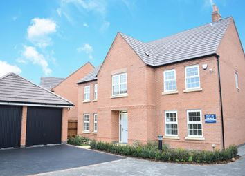 """Thumbnail 5 bedroom detached house for sale in """"Glidewell"""" at Wright Close, Whetstone, Leicester"""