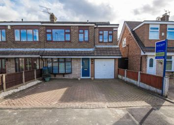Thumbnail 3 bedroom semi-detached house for sale in Andover Crescent, Winstanley, Wigan