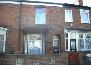 Thumbnail 3 bed terraced house for sale in Pendrill Street, Hull