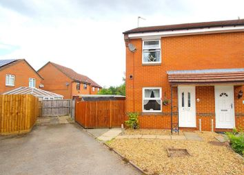 Thumbnail 2 bed semi-detached house for sale in Cherrybrook Close, Leicester