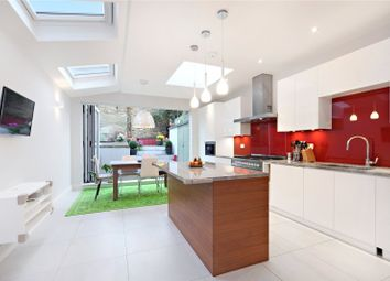 Thumbnail 4 bed terraced house for sale in Hazlebury Road, Fulham