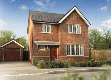 "Thumbnail 4 bedroom detached house for sale in ""The Hallam"" at Wharford Lane, Runcorn"