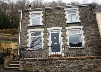 Thumbnail 2 bed end terrace house for sale in Llanwonno Road, Pontypridd