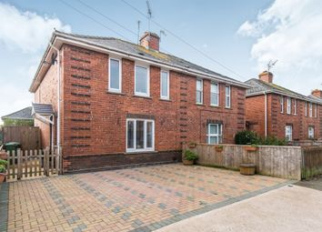 Thumbnail 3 bedroom semi-detached house for sale in Shakespeare Road, Exeter