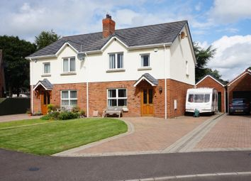 Thumbnail 3 bed semi-detached house for sale in Rectory Meadow, Broughshane