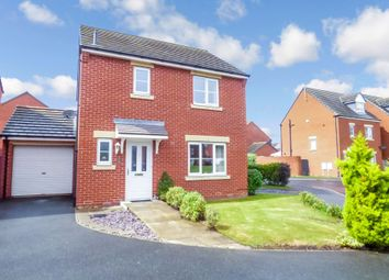 Thumbnail 3 bedroom detached house for sale in Hownham Close, Seaton Delaval, Whitley Bay