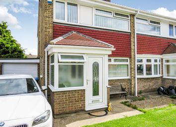 Thumbnail 3 bedroom semi-detached house for sale in Carlbury Avenue, Middlesbrough