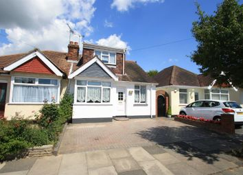 Thumbnail 3 bed semi-detached bungalow for sale in Feeches Road, Southend-On-Sea