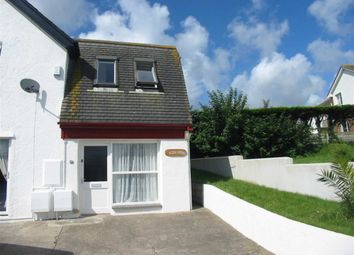 Thumbnail 2 bed semi-detached house to rent in Flexbury Avenue, Bude, Cornwall