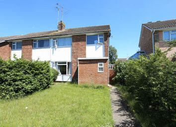 Thumbnail 3 bed semi-detached house to rent in Kingfisher Drive, Woodley, Reading