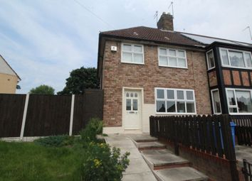 Thumbnail 3 bedroom semi-detached house to rent in Fairclough Road, Huyton, Liverpool