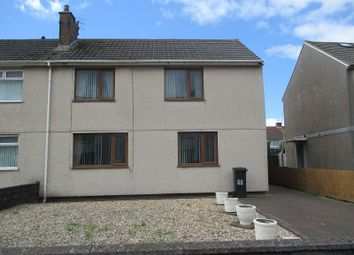 Thumbnail 3 bed semi-detached house for sale in Dalton Road, Port Talbot, Neath Port Talbot.