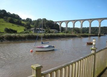 Thumbnail 2 bed terraced bungalow for sale in 1 The Riverside, The Quay, Calstock, Cornwall