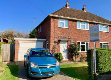Thumbnail 3 bedroom semi-detached house for sale in Kingsley Close, Shaw, Newbury