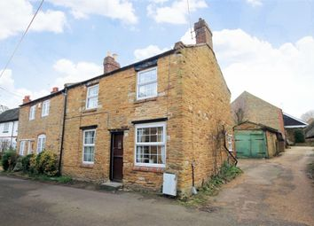 Thumbnail 2 bed end terrace house for sale in Manor Road, Pitsford, Northampton