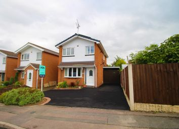 Thumbnail 3 bedroom detached house for sale in Tiverton Close, Mickleover, Derby
