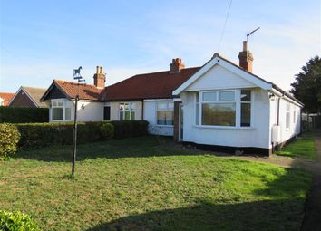 Thumbnail 2 bed semi-detached bungalow to rent in Yarmouth Road, Broome, Bungay
