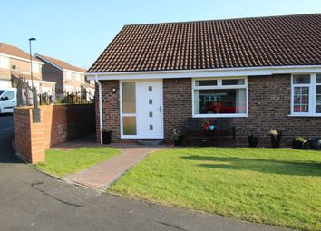 Thumbnail 2 bed bungalow for sale in Aldeburgh Avenue, Lemington Rise, Newcastle Upon Tyne