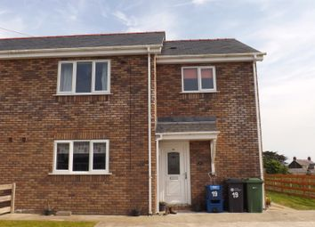 Thumbnail 3 bed semi-detached house to rent in Llys Tregaian, Llangristiolus, Llangefni, Ynys Mon
