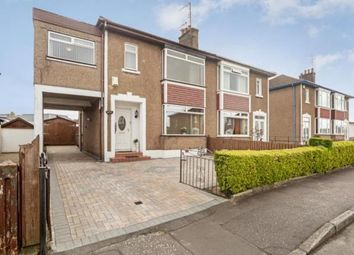 Thumbnail 3 bed semi-detached house for sale in Manor Road, Drumchapel, Glasgow