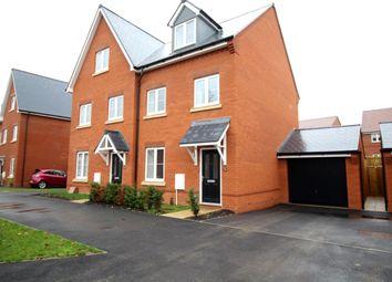 Thumbnail 3 bed semi-detached house for sale in Kingsman Drive, Botley, Southampton