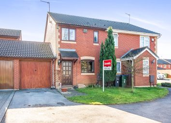 Thumbnail 2 bedroom semi-detached house for sale in Avern Close, Tipton