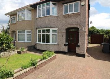 Thumbnail 3 bed semi-detached house to rent in Woodfield Avenue, Bebington, Wirral, Merseyside